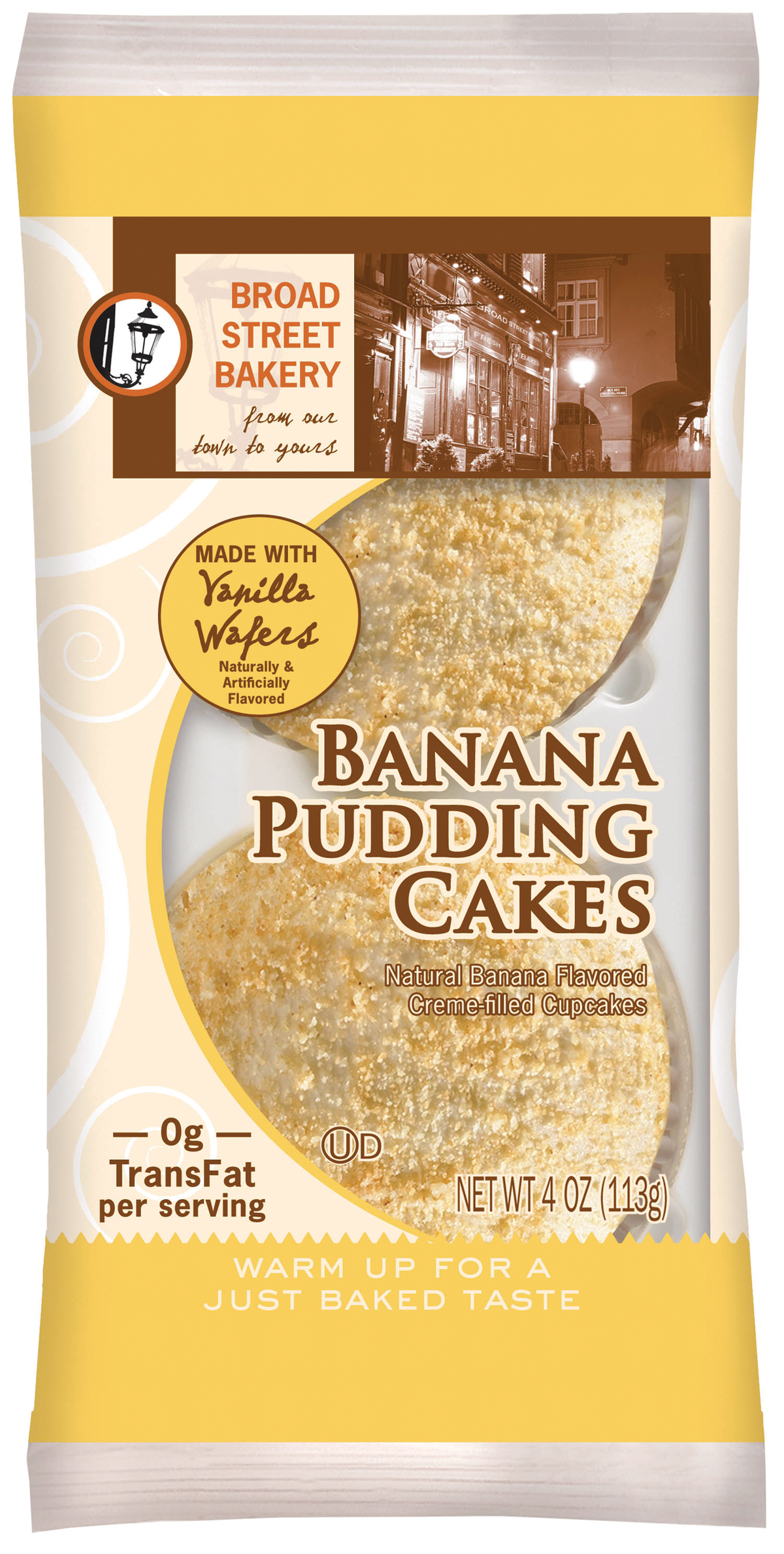 Baker Auto Sales >> Flowers Food Broad Street Bakery Banana Pudding Cakes From: Flowers Foods | Vending Market Watch