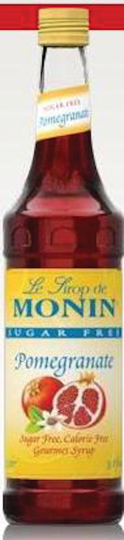 Monin Sugar Free Syrups From Monin Vending Market Watch