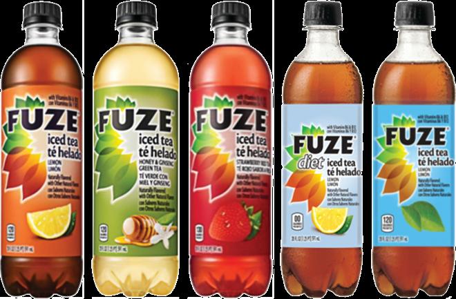 FUZE® Expands Iced Tea Line   Vending
