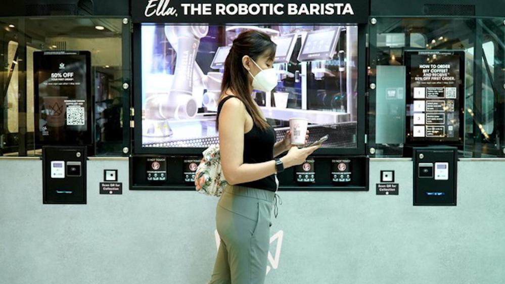 Crown Digital Robot Barista Ella